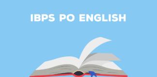 IBPS Po English Preparation