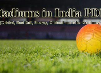 List of Stadiums in India PDF