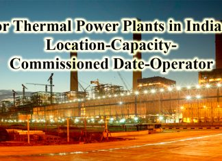 list of thermal power plants in india with capacity pdf