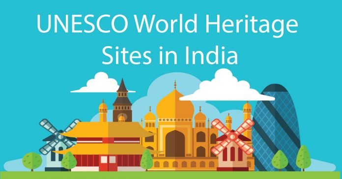List of unesco world heritage sites in india pdf cracku for World heritage site list