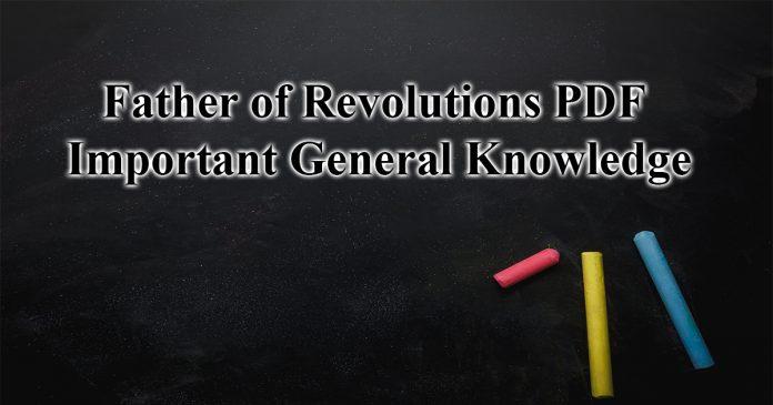 revolutions in india pdf