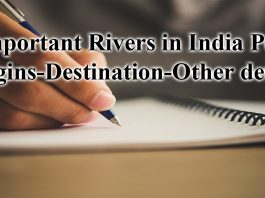 indian rivers origin and destination pdf