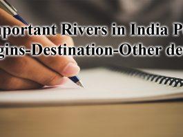 indian rivers origin and destination pdf
