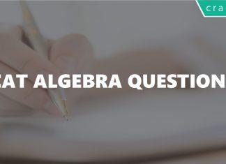 CAT Algebra Questions