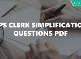 IBPS Clerk Simplification Questions PDF