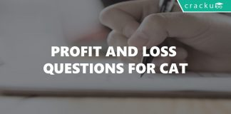 Profit and Loss Questions for CAT