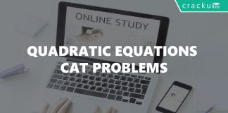 Quadratic Equations CAT Problems