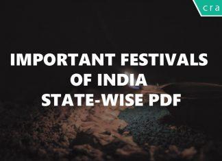 festivals of indian states pdf