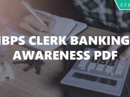 IBPS Clerk Banking Awareness PDF