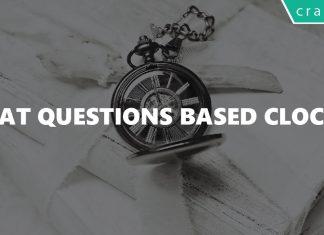CAT Questions Based Clock