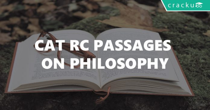 CAT RC Passages on Philosophy