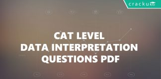 CAT level data interpretation questions with solutions