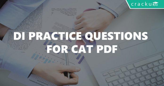 DI Practice Questions for CAT PDF