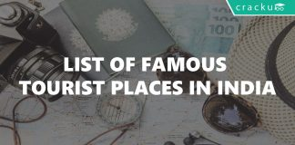 List of Famous Tourist Places in India