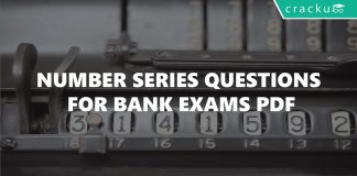 Number Series Questions for Bank Exams PDF