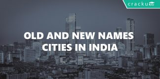 Old and New names of Cities in India