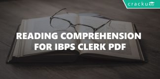 Reading Comprehension for IBPS Clerk PDF