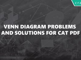 Venn Diagram Problems and Solutions for CAT PDF