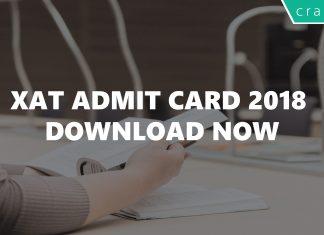 XAT admit card 2018 download