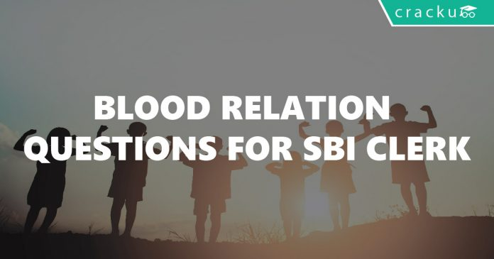 Blood Relation Questions for SBI Clerk