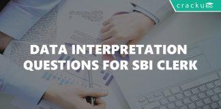 Data Interpretation Questions for SBI Clerk