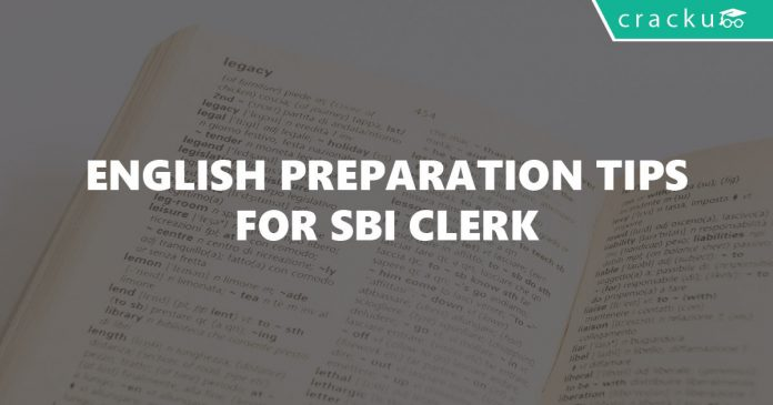 how to prepare english for sbi clerk exam