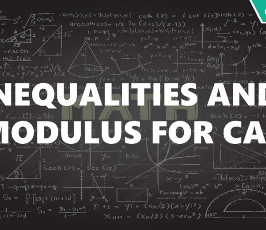 Inequalities and Modulus for CAT