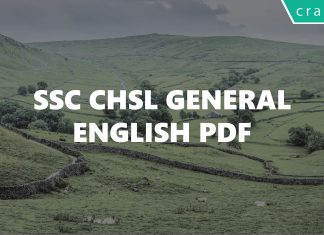 SSC CHSL General English PDF