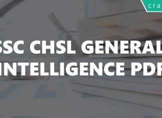 SSC CHSL General Intelligence PDF