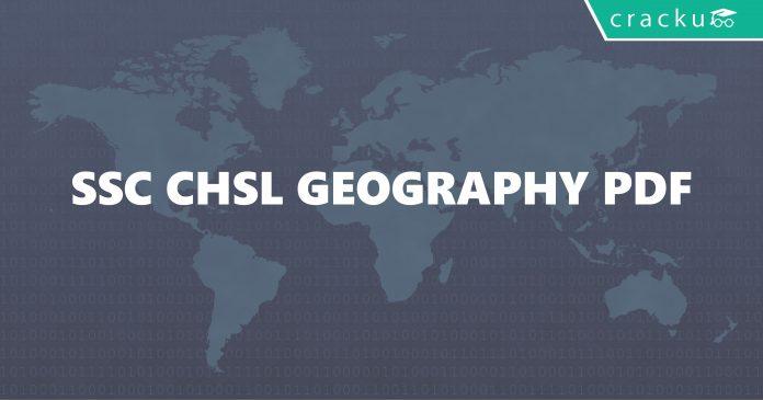 SSC CHSL Geography PDF