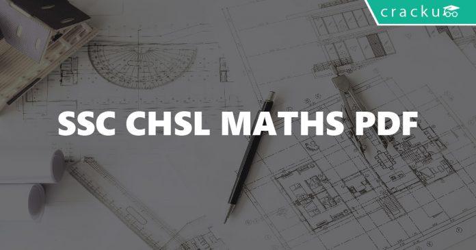 SSC CHSL Maths PDF