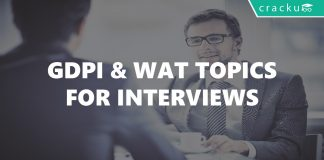 GDPI and WAT topics for interviews