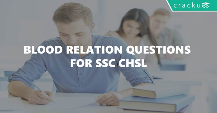 Blood Relation Questions for SSC CHSL
