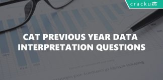 CAT Previous Year Data Interpretation Questions