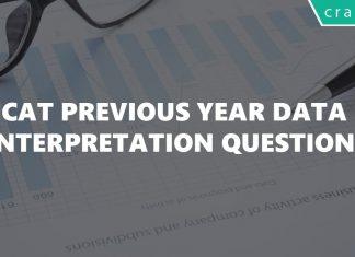 CAT Previous Year Data Interpretation Questions