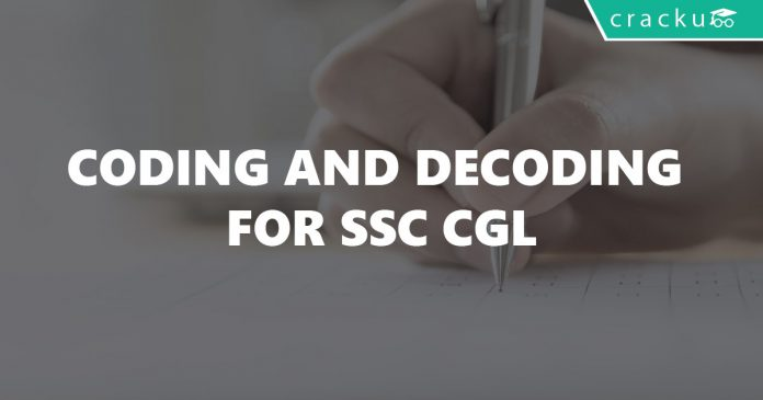Coding and Decoding for SSC CGL