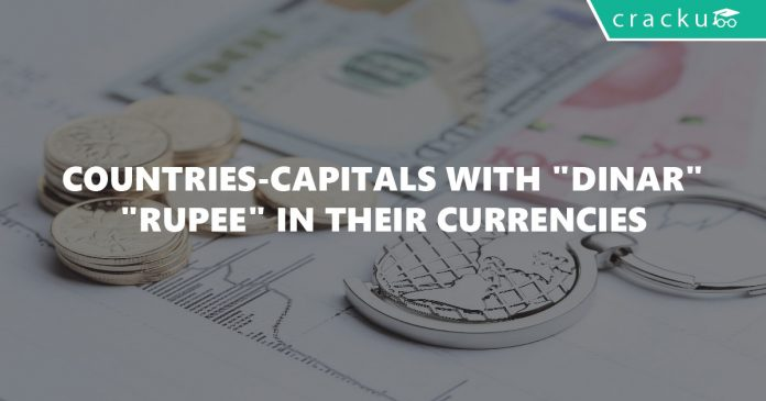 Countries-Capitals with DINAR