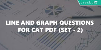 Line and Graph Questions for CAT PDF (Set - 2)