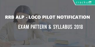 RRB ALP -Technician recruitment 2018 notification