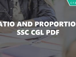 Ratio and Proportion SSC CGL PDF