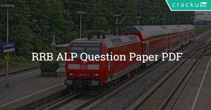 RRB ALP Question Paper PDF