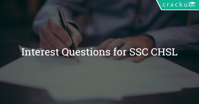 Interest Questions for SSC CHSL
