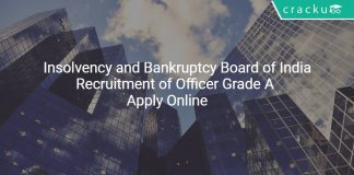IBBI Recruitment of Officer Grade A - Assistant Manager Posts