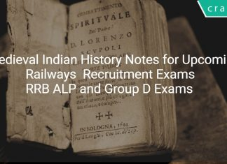 medieval indian history notes for upcoming railway exams
