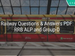 Railway questions and answers PDF RRB ALP & Group-D