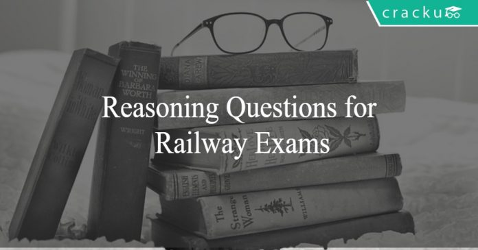 Reasoning Questions for Railway Exams