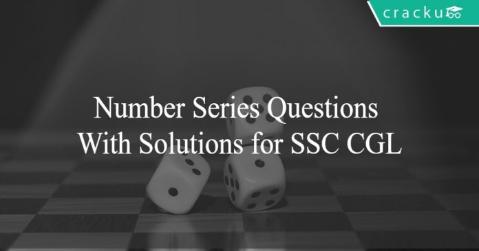 Number Series Questions With Solutions for SSC CGL