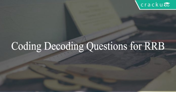 coding decoding questions for rrb