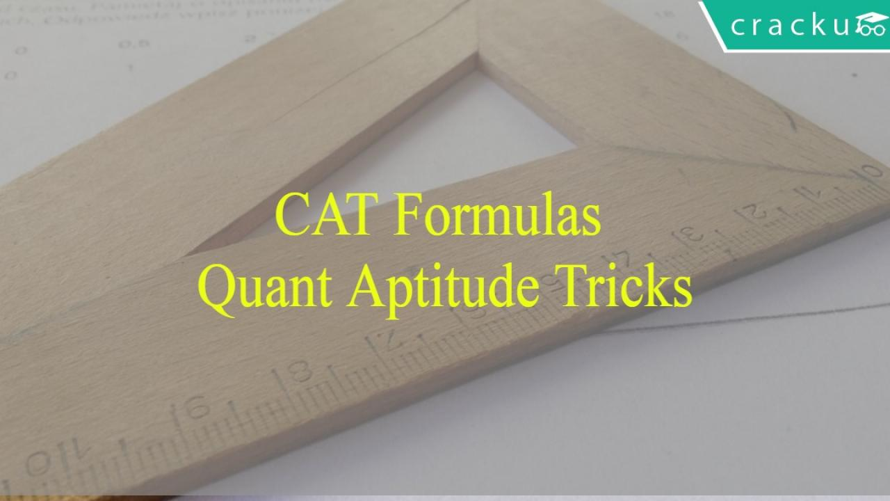 CAT Formulas PDF - Cracku