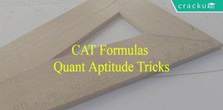 CAT Quantitative Aptitude formulas PDF